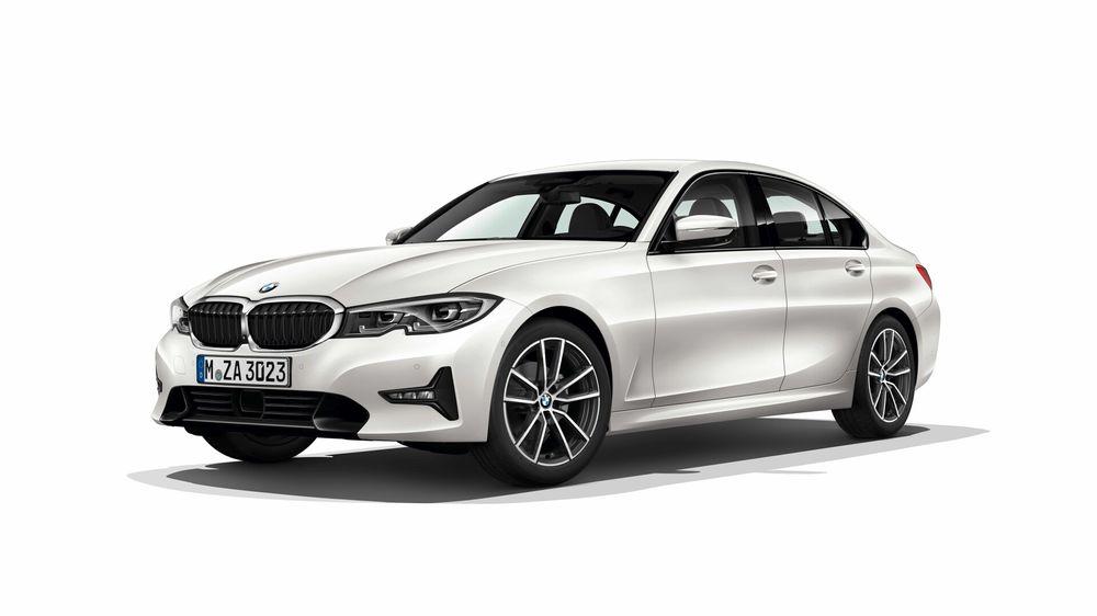 Intérieur de la nouvelle BMW Série 3 (2019) leak