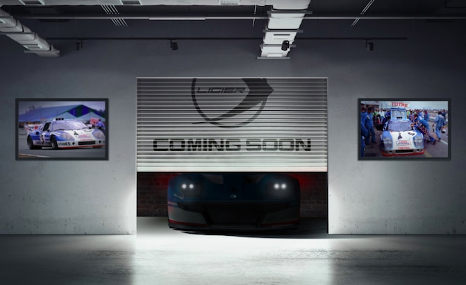 Ligier teaser Mondial de l'Auto 2018