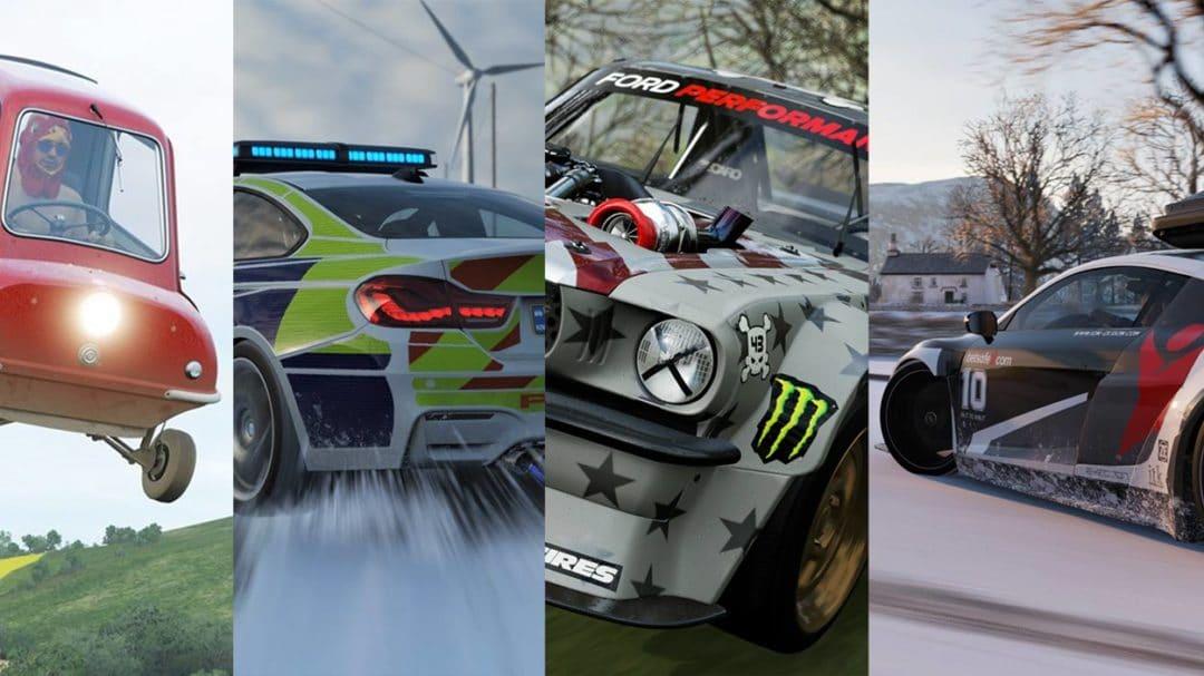 Top 10 des voitures insolites de Forza Horizon 4