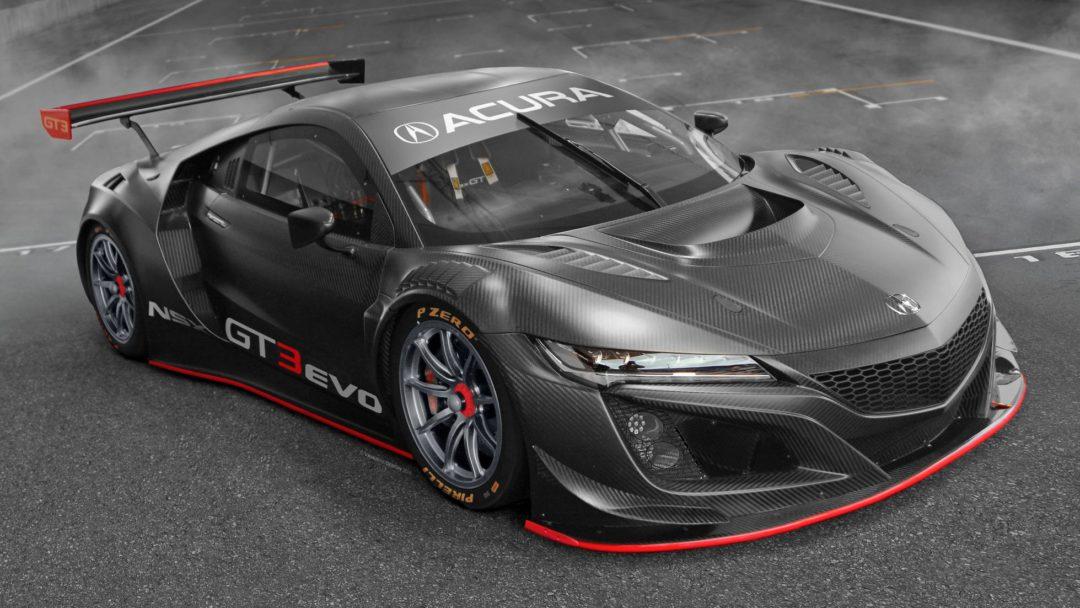 Nouvelle Honda NSX GT3