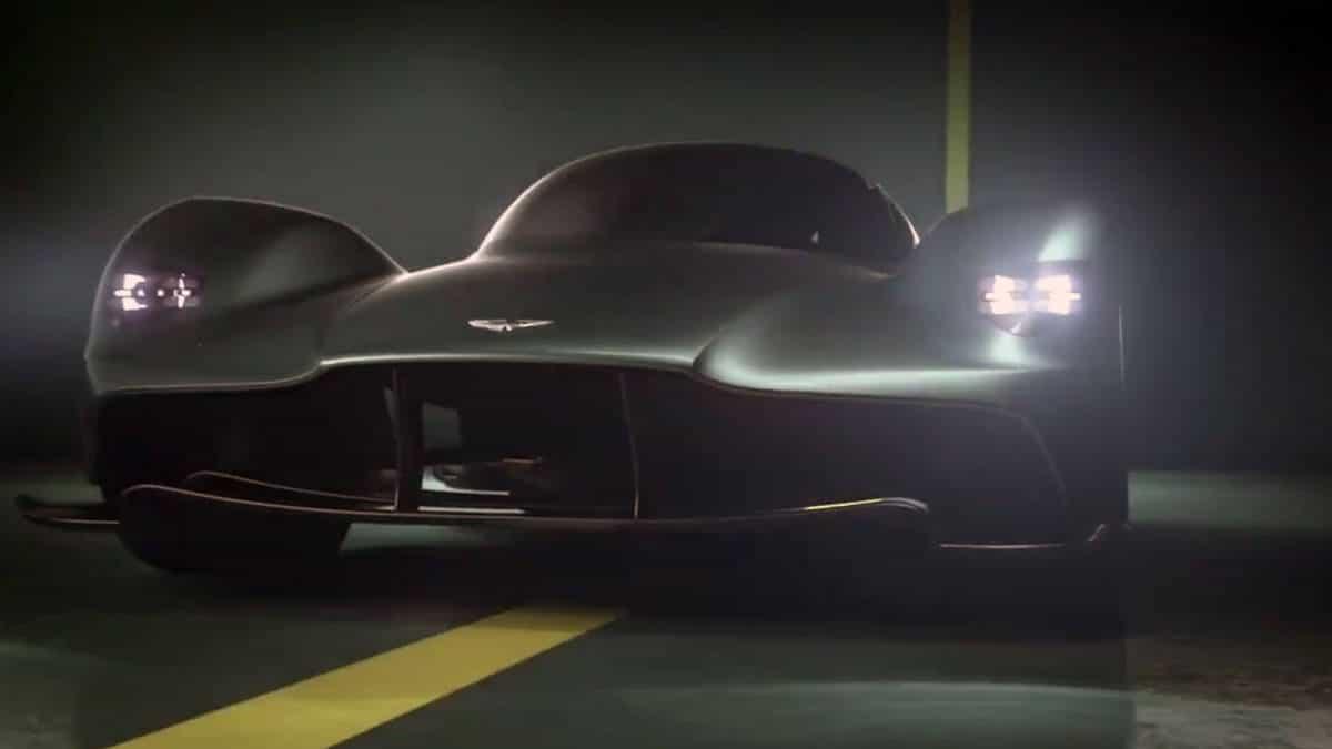 Andy Palmer dévoile en vidéo le son de la future Aston Martin Valkyrie V12