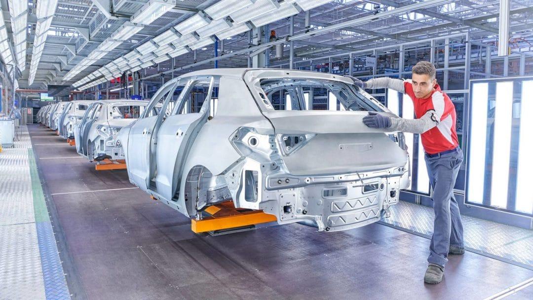 Production de l'Audi A1 (2)