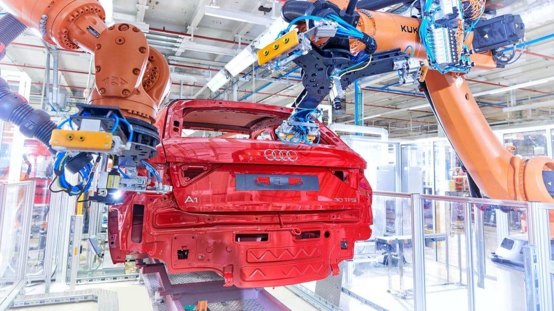 L'usine de Martorell produit l'Audi A1
