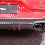 Mercedes AMG GT 43 fausses sorties d'échappements Mondial de l'Auto Paris