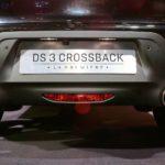 DS3 Crossback fausses sorties d'échappements Mondial de l'Auto Paris