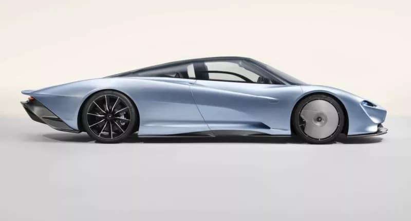 nouvelle McLaren Speedtail (2019)