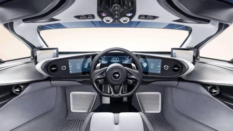 Cockpit McLaren Speedtail (2019)