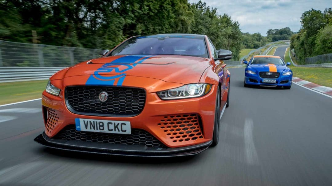 Jaguar XE Project 8 Nürburgring