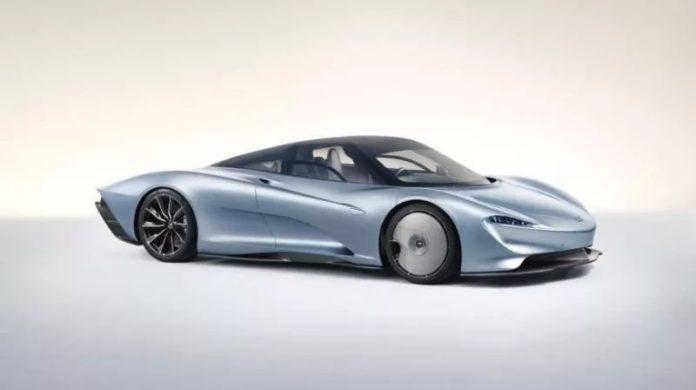 Leak : nouvelle McLaren Speedtail (2019)