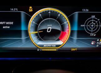 Mercedes drift mode