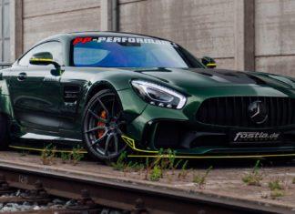 Mercedes-AMG GT by Fostla
