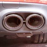 AMG GT 43 fausses sorties d'échappements Mondial de l'Auto Paris