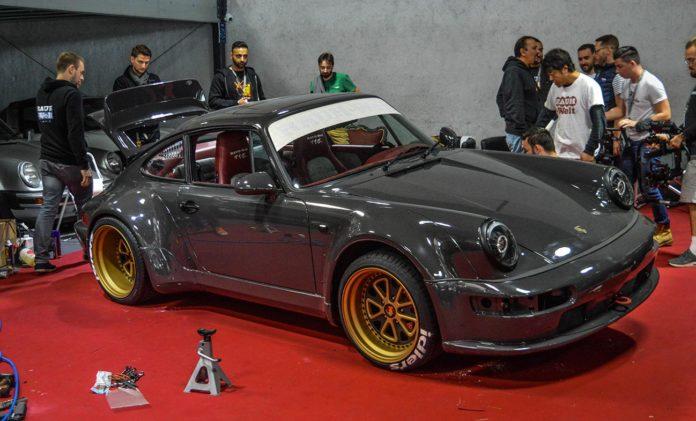 La seconde Porsche RWB France :