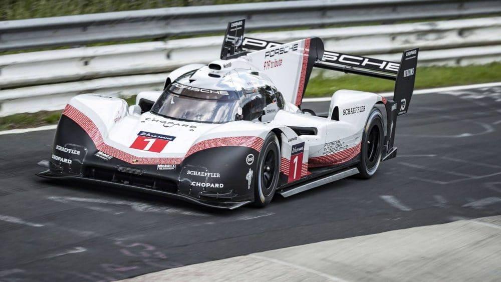 Porsche 919 Hybrid Evo record Nürburgring