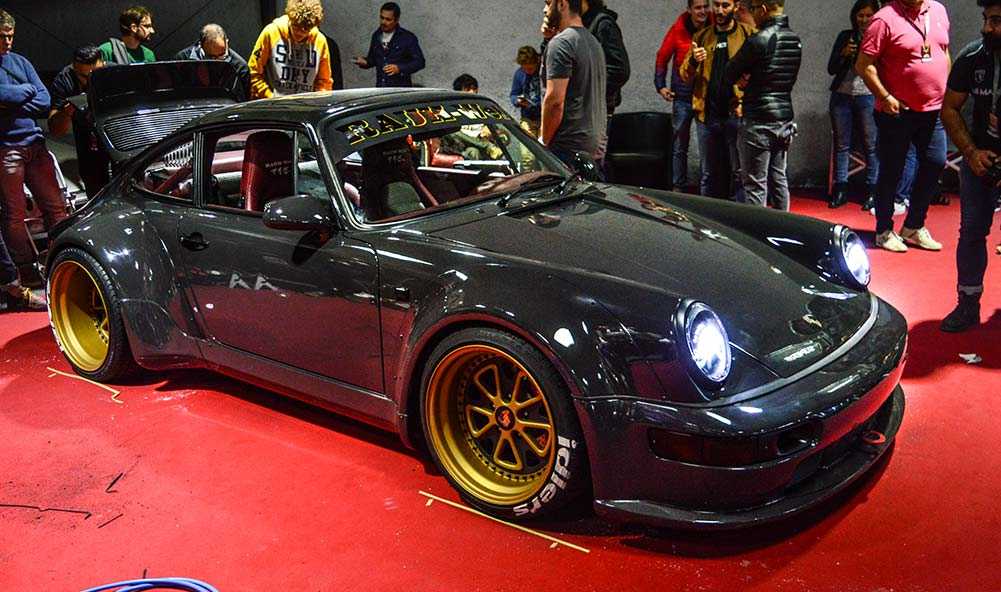 "La Porsche RWB France ""Bourgogne"" finie"