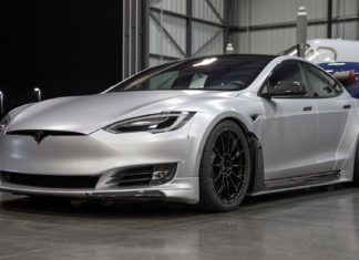 SEMA 2018 : Tesla Model S P100D par Unplugged Performance