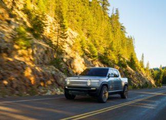 Nouveau pick-up 100% électrique de Rivian R1T tout terrain