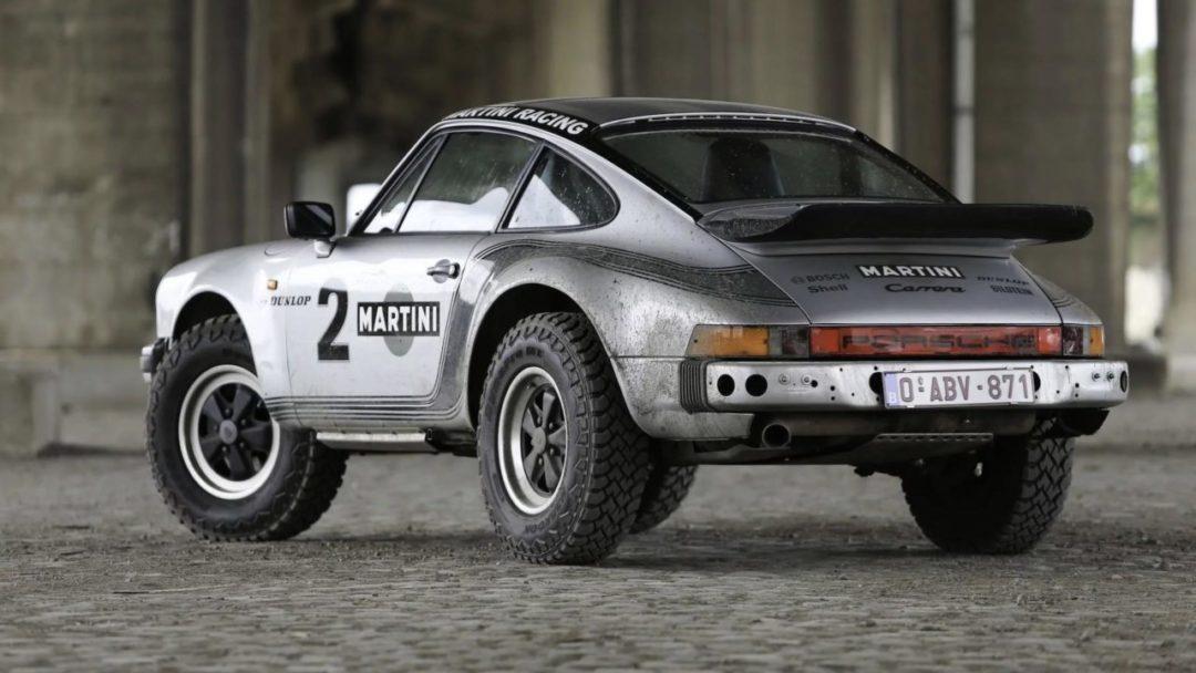 Future Porsche 911 Safari SUV dans les tuyaux ?