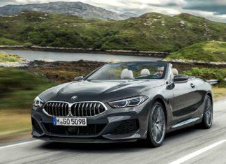 BMW Série 8 cabriolet AVANT