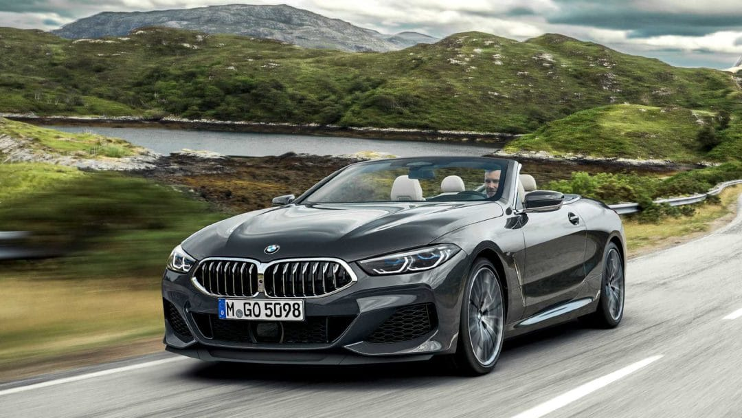Salon de Los Angeles 2018 : BMW Série 8 cabriolet AVANT