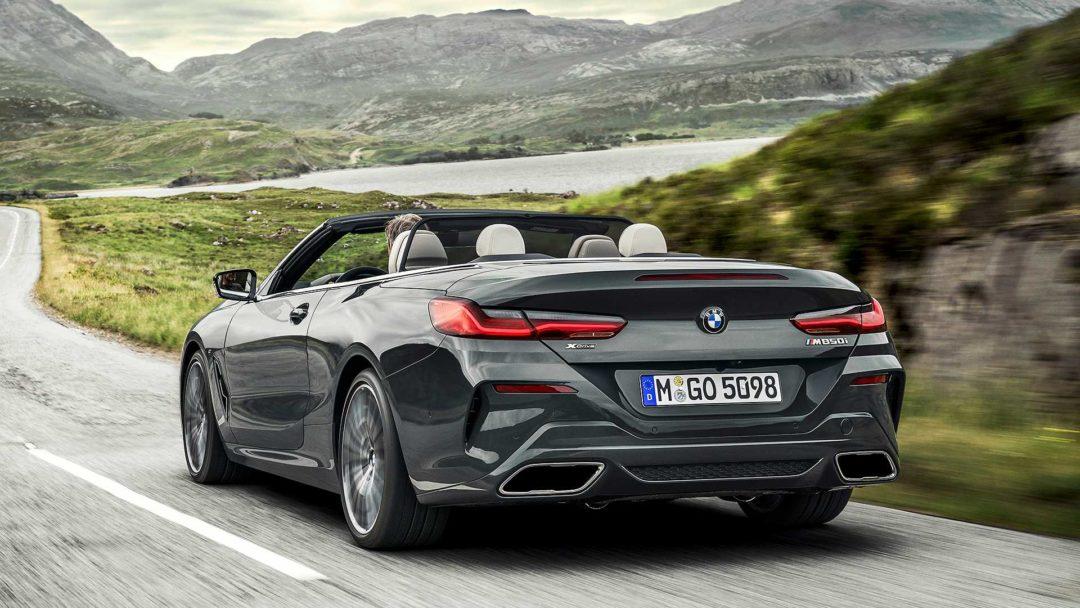 BMW Série 8 cabriolet ARRIERE