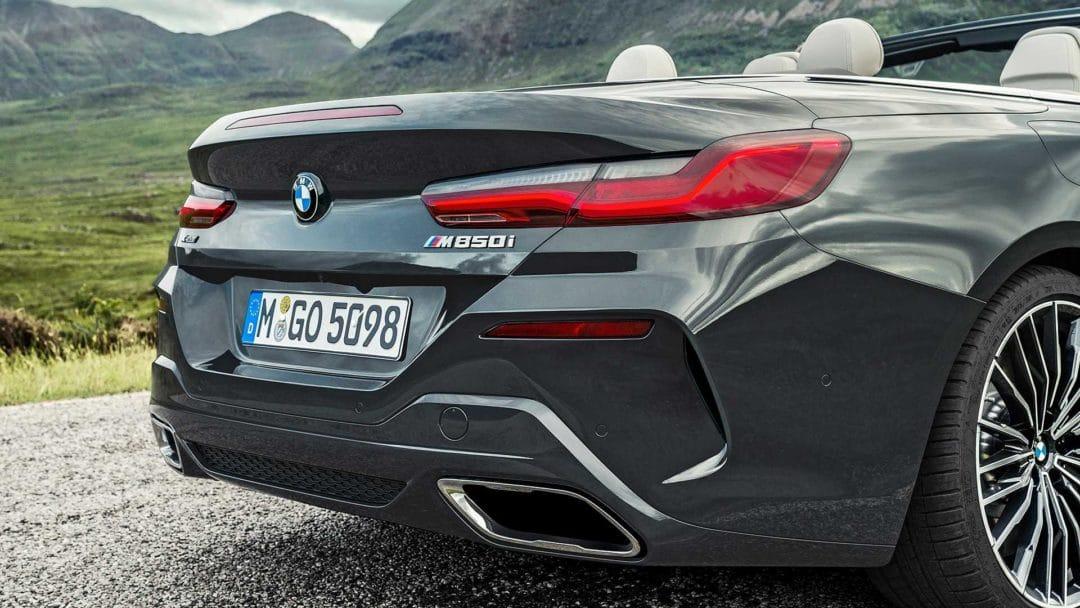 Echappement BMW Série 8 cabriolet