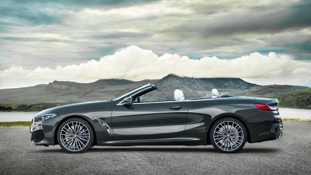 BMW Série 8 cabriolet sans le toit