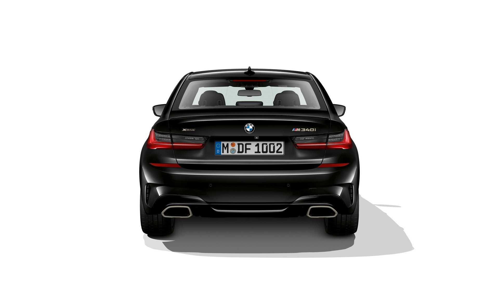 Arrière BMW M340i et M340i xDrive