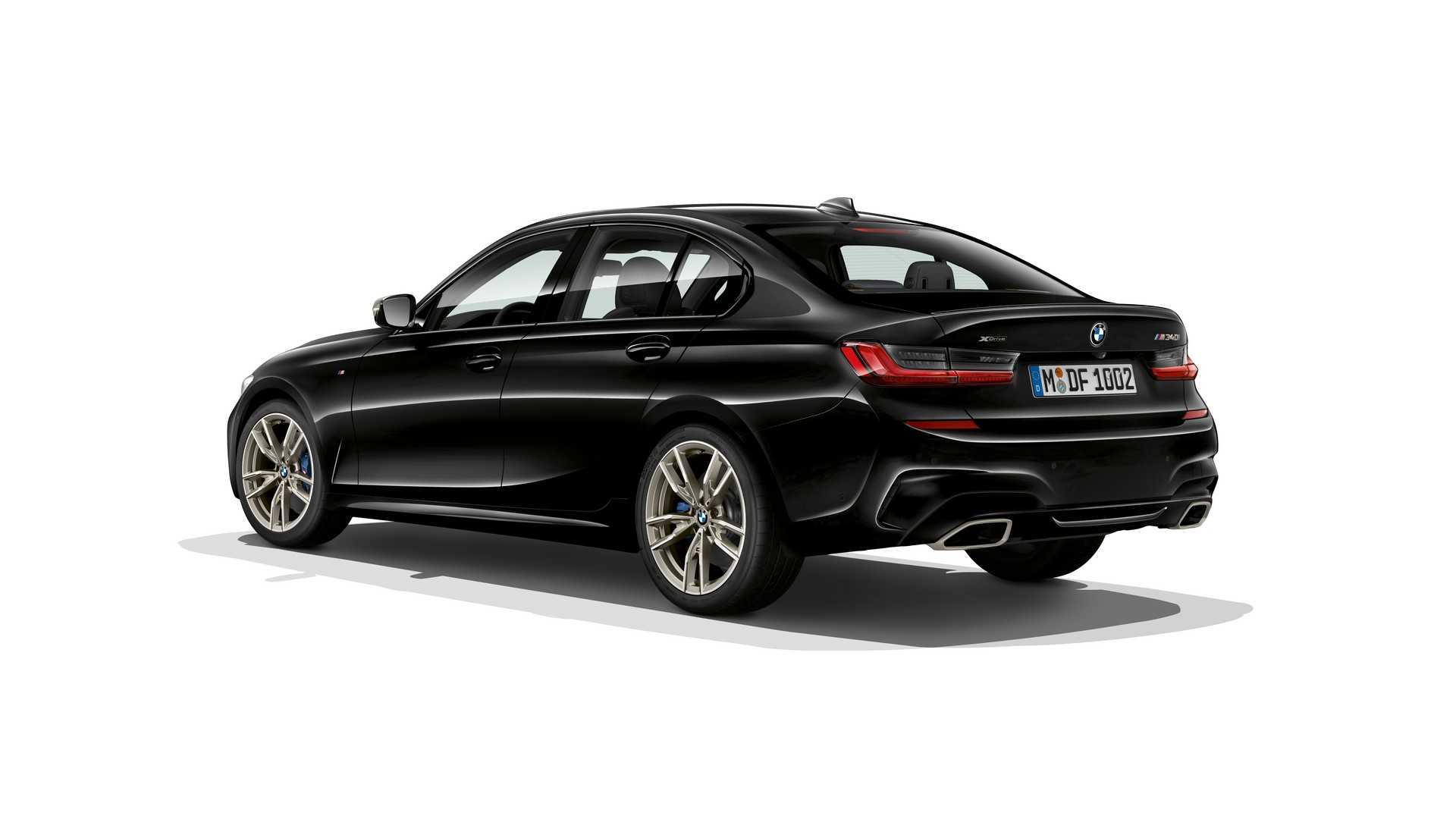 3/4 Arrière BMW M340i et M340i xDrive