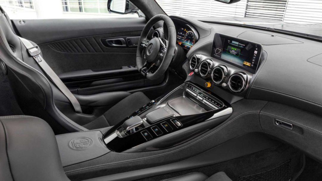 Intérieur de la Mercedes-AMG GT R Pro