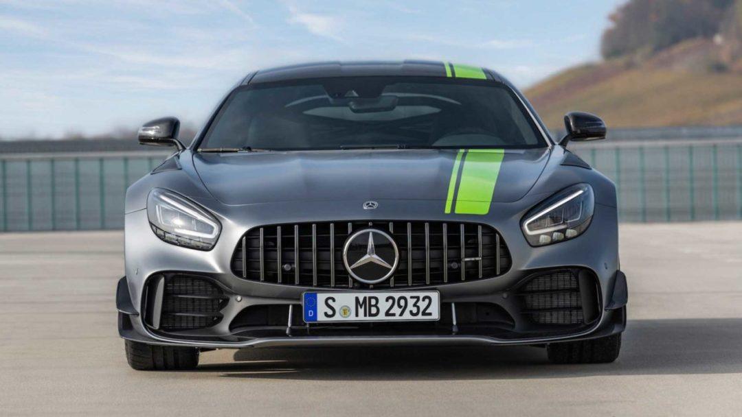 Face avant Mercedes-AMG GT R Pro