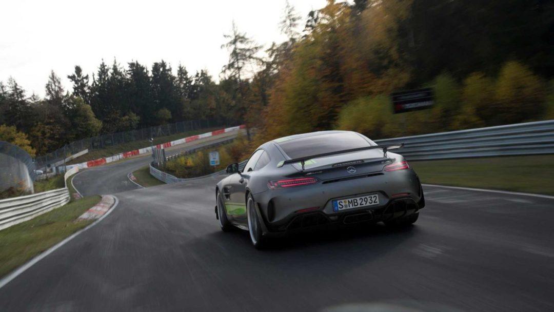 Mercedes-AMG GT R Pro au Nürburgring