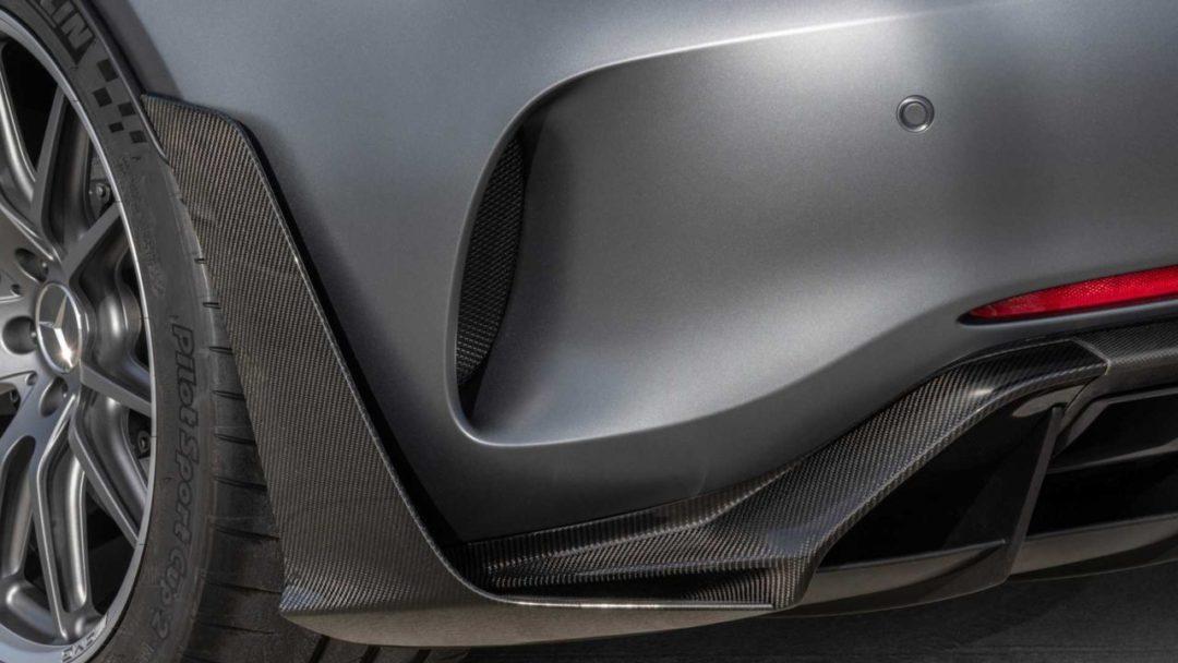 Mercedes-AMG GT R Pro ailettes arrière