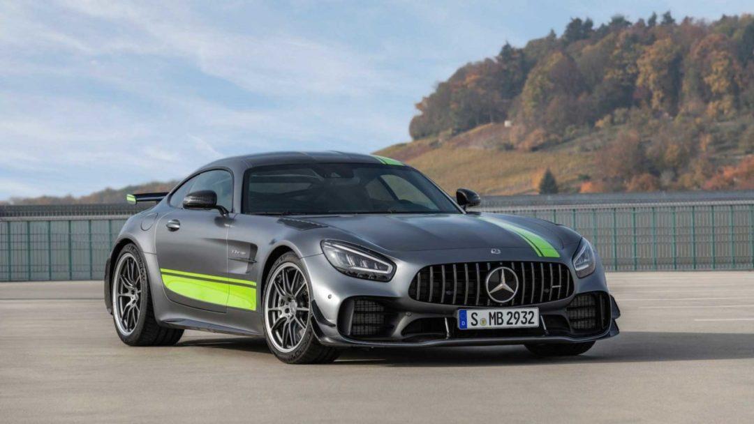 Mercedes-AMG GT R Pro révélée au salon de Los Angeles 2018
