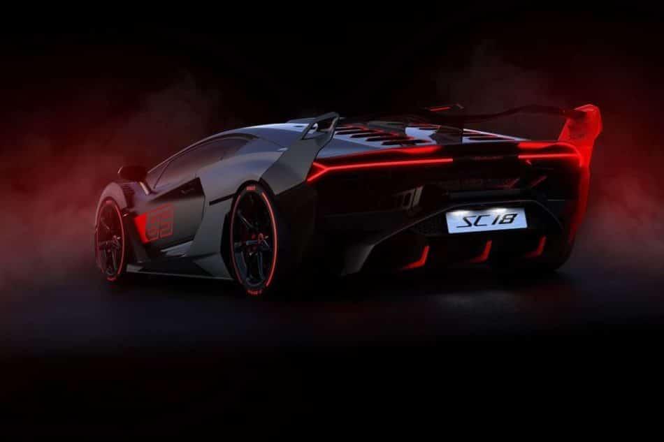 arrière Lamborghini SC18 Alston