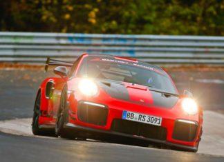 Porsche 911 GT2 RS RM bat le record du Nürburgring-Nordschleif