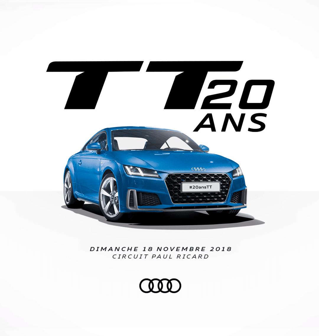 20 ans Audi TT