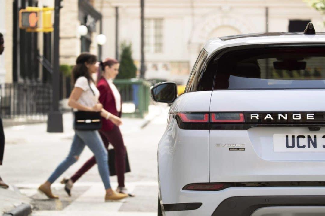 Range Rover Evoque urbain