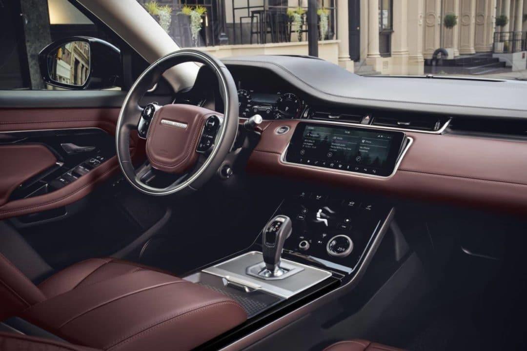 Intérieur du Land Rover Range Rover Evoque 2019