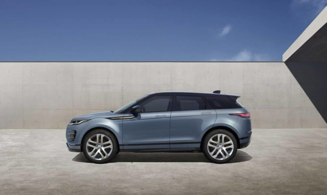 Salon de Los Angeles 2018 : Range Rover Evoque de profil