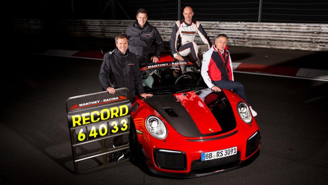 Record pour la Porsche 911 GT2 RS RM signée Manthey-Racing