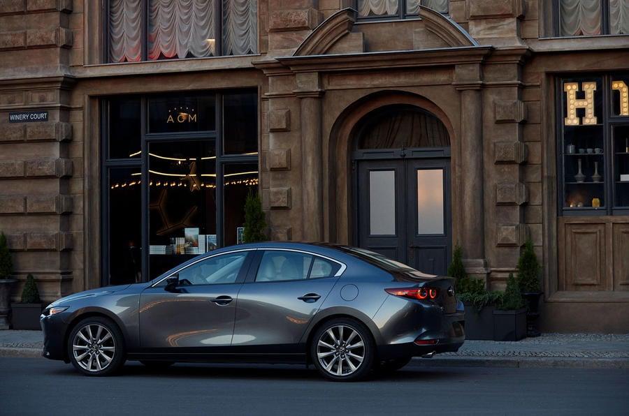 Nouvelle Mazda 3 berline