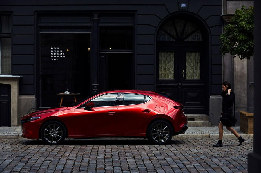 Nouvelle Mazda 3 compacte