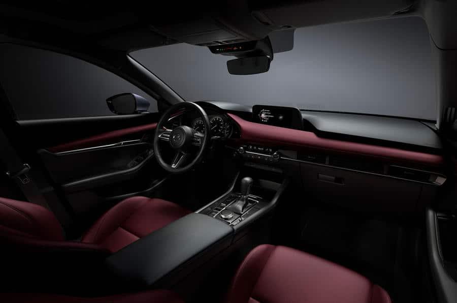 Intérieur de la nouvelle Mazda 3 (2019)