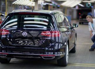 Usine Volkswagen Passat