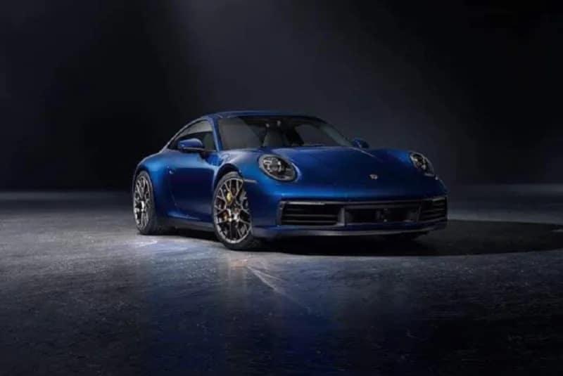 Porsche 911 (992) face avant