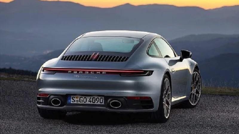 Porsche 911 (992) prévue pour 2019
