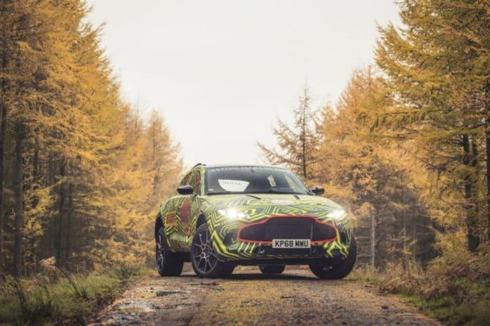 2019 Aston Martin DBX protoype