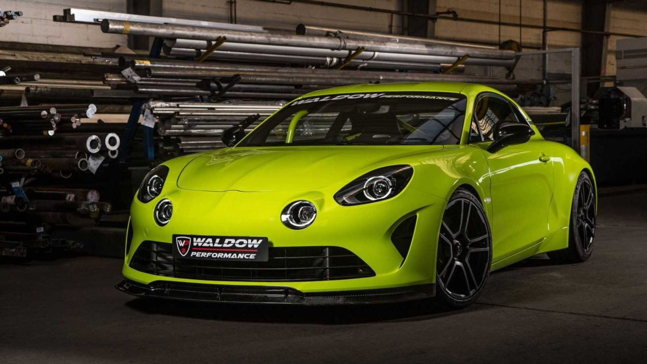 Alpine A110 WP300 par Waldow Performance