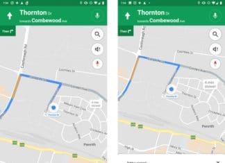 Google Maps Speed trap
